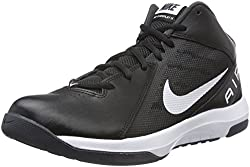 Nike Mens Black Basketball Shoes - 9 D(M) US