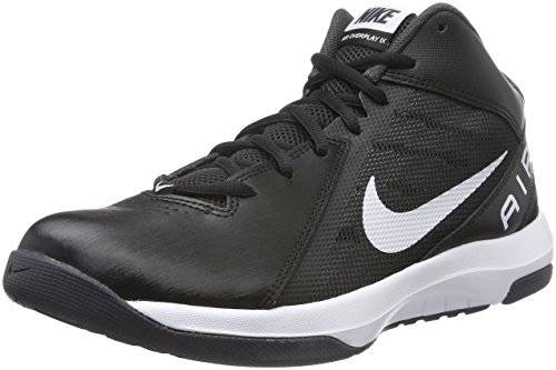 Nike Herren the Air Overplay IX Basketballschuhe, Schwarz (Black/White-Anthracite-Dark Grey), 46 EU