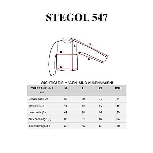 BOLF STEGOL Herren Longsleeve Langarm Shirt Slim Fit Pullover Sweatshirt 1A1 Mix Gelb_547