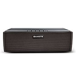 Amkette Trubeats BoomerFX Wireless Bluetooth Speakers 12W Output, 16 HOURS Play time & SuperBoom Bass Radiator (USB/SDcard/AUX/FM and PowerBank Function) with 1 Year Warranty