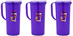 aarohi13 Jug, 3-Piece, 1.5 Liters, Purple (Set Of 3_Jug_Purple)