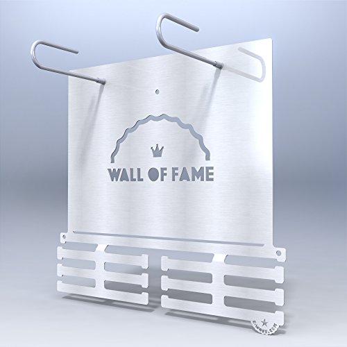 Wall Of Fame BIB POCKET HANGER - Race Lätzchen und Medaille Aufhänger Wand montiert Medaille Aufhänger Medaillenhanger Medal Hanger Race Fotos Bibfolio Bib - Race-medaille Aufhänger