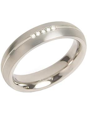 Boccia Herren-Ring Titan Diamant weiß 0130_1