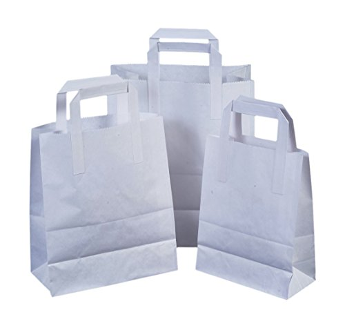 the-paper-bag-company-18-x-23-x-9-cm-paper-carrier-bags-with-flat-handles-pack-of-25-white