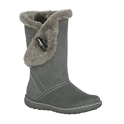 Pixie Ellie, Ladies Boots (5, Grey)