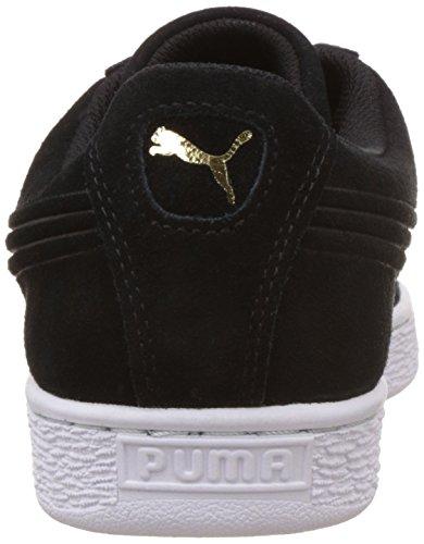 Puma Suede Unisex-Erwachsene Sneaker schwarz