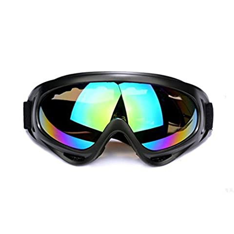 Erinfam Skiing Goggles Dust Sun Glasses Outdoor Sports Bicycle Motorcycle Goggles, Sb226-05,
