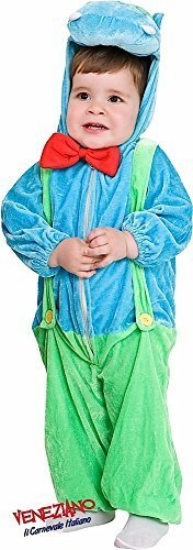 Nilpferd Kleinkind Kostüm - Fancy Me Italienische Herstellung Kleinkinder Jungen Mädchen Nilpferd Safari Zoo Tier Kostüm Kleid Outfit 12-36 Monate - 1 Year