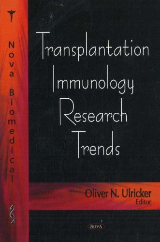 Transplantation Immunology Research Trends by Oliver N. Ulricker (2007-08-28)