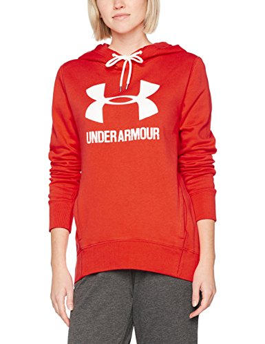 Under Armour Herren Favorite Fleece PO Langarmshirt, Marathon Red, M Under Armour-fleece-pullover