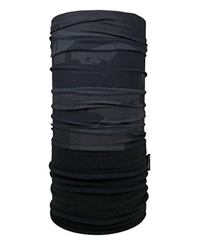 Hilltop Polar Schlauchtuch / Multifunktionstuch mit Fleece, Kopftuch, Halstuch versch. Farben, Farbe Polar Tuch:graue Graffiti