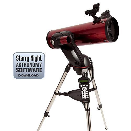 Celestron SkyProdigy 130 - Telescopio Reflector, Rojo