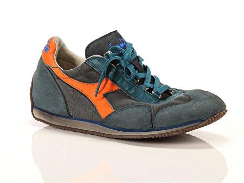 diadora-heritage-uomo-equipe-sw-dirty-11-petrolio-grigio-arancione-pelle-canvas-sneakers-verde-425-e