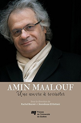 Download Amin Maalouf: une oeuvre à revisiter pdf ebook