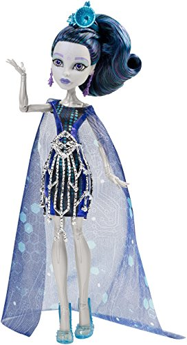 Monster High Mattel CHW63 - Buh York, Elle Edee, - Luna Monster Kostüm