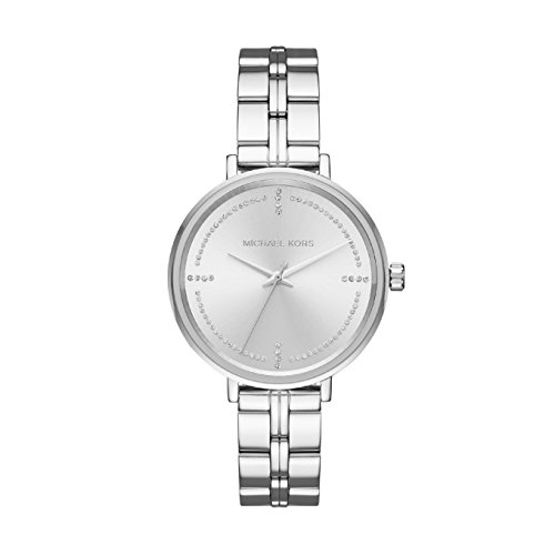 Michael Kors Women's Analogue Quartz Watch with Stainless Steel Strap MK3791