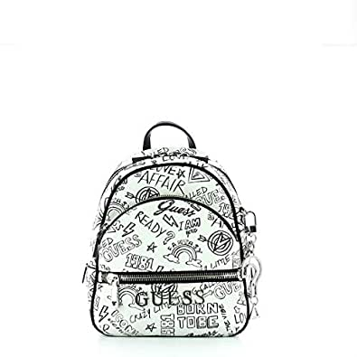 ce46592f7b6 Guess Manhattan, Women's Backpack, Multicolour (Graffiti/Gft), 21x27 ...