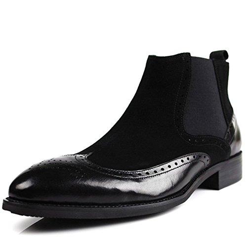 gli stivali di moda casual di cuoio cuoio martin, martin, stivali e scarpe inglese black
