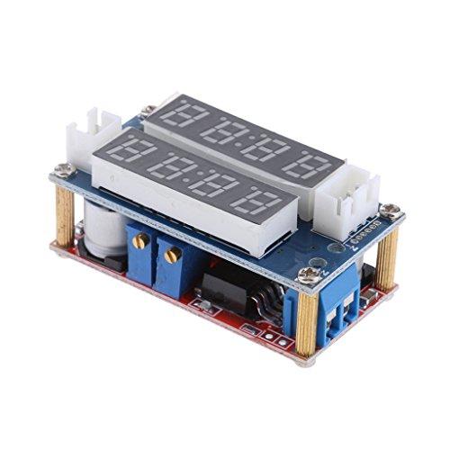 5a Batterie-ladegerät (D DOLITY 5v-30v Zu 0.8-29v Heruntersetzen 5A Lithium-Batterie-Ladegerät-Modul Führte Voltmeter)
