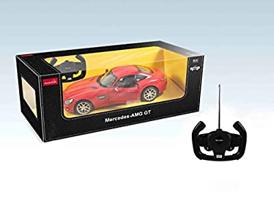 1:14 Licensed Mercedes AMG GT Radio Remote Control Car RC Opening Doors Light UK - The Perfect Gift For Your Children.