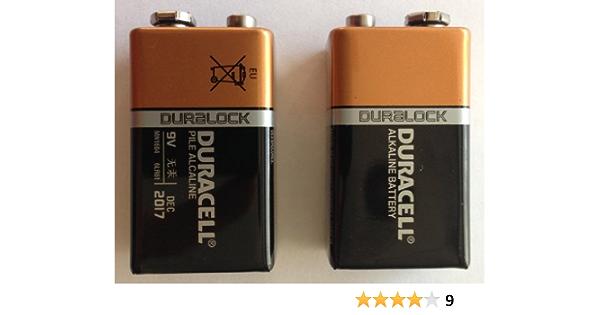 Duracell Mn1604 9v Block Oem Duralock Elektronik