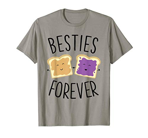 tter Jelly Besties Forever Best Friends T-Shirt ()