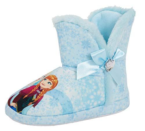 Disney Girls Frozen Slipper Boots Kids Elsa Anna Booties House Shoes Gift Size
