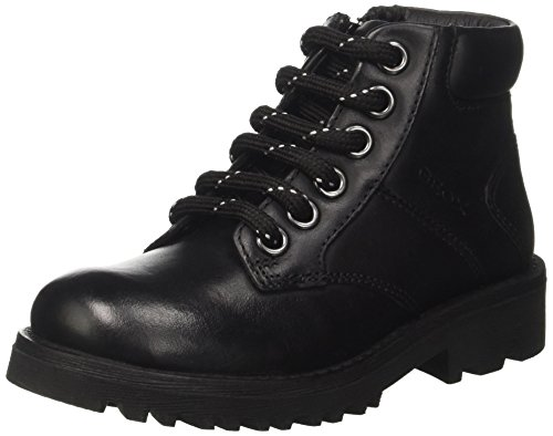 Geox Jungen JR Axel Boy E Combat Boots, Schwarz (Black), 27 EU