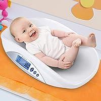 Infantastic Báscula para bebés con USB| Balanza digital | plástico, hasta 20 kg,