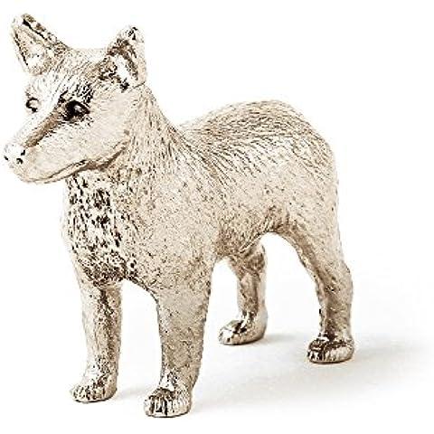 Pastor ganadero australiano Hecho en Reino Unido Artístico Perro Figura Colección