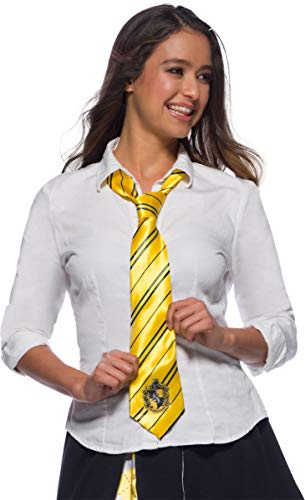 Harry Potter Adult Costume Neck Tie, Hufflepuff, One Size