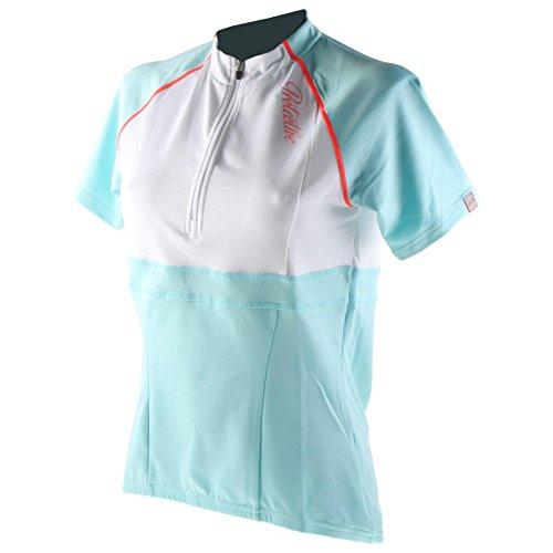 Protective Bike Damen Fahrrad Trikot Türkis Atollo Jersey Shirt Rad Sport, 299994-710, Größe 38
