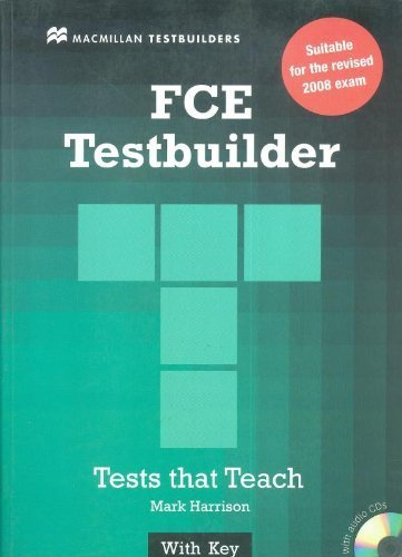 New FCE Testbuilder: Student Book with Key by Harrison, Mark, Allsop, Jake (2010) Paperback