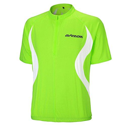 Airtracks FUNKTIONS Fahrradtrikot/RADTRIKOT/Jersey/Kurzarm Team - neon - L -