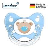 Dentistar® Silikon-Schnuller Sonderedition- Nuckel-Motiv: Bär