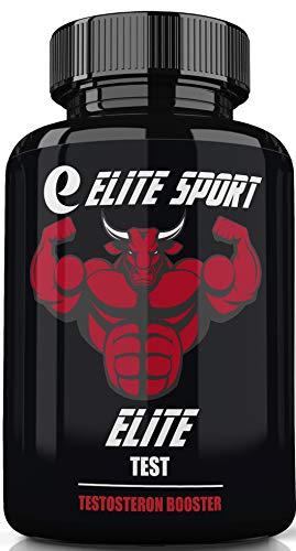 Elite Sport, Elite Test, Testosteron Booster für Männer - Natürliche Ausdauer, Ausdauer und Kraftverstärker - Stärkt den Stoffwechsel - Fördert gesundes Abnehmen und Fettverbrennung