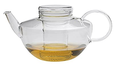 Opus Théière en esthétique simples avec le verre filtre, 1,2 l
