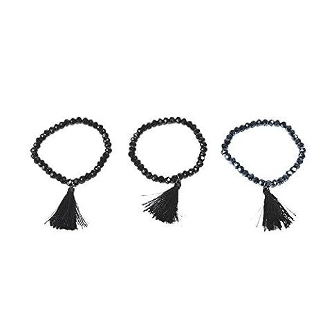 Parfois - Set Bracelets Black Sky - Femmes - Taille Unique - Multicor Escura