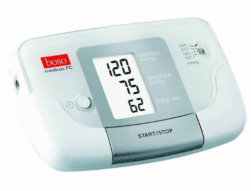 boso medicus PC 2 / Vollautomatisches Blutdruckmessgerät für die Messung am Oberarm mit Auswertung via PC-Software / Inkl. Standard-Manschette (22–32cm)