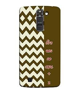 PrintVisa No Option 3D Hard Polycarbonate Designer Back Case Cover for LG K10 :: LG K10 Dual SIM :: LG K10 K420N K430DS K430DSF K430DSY