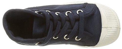 Bensimon Tennis Mid Unisex-Kinder Hoch  oben sneaker Blau - Bleu (516 Marine)