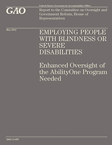 Employing People with Blindness or Servere Disabilities