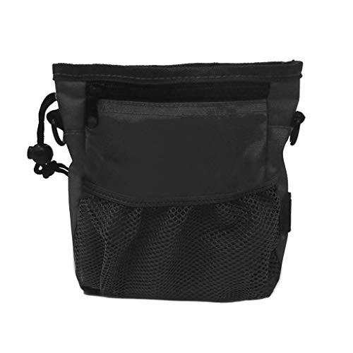 (Busirde Hundetraining Saures Tasche Pet Pouch Welpen Snack Belohnung Waist Container Trainings Carry-Halter-Taschen schwarz)