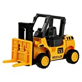 #7: GAZEPO Sliding Toy Cars,Vehicle Model Simulation Excavator Truck Construction Toy Alloy Car for Baby Toddler Kids Gift (Forklift)