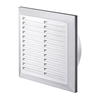 White Air Vent Grille 125mm / 5