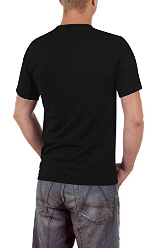 Touchlines Saiyan Slimfit, T-Shirt Uomo Schwarz (Black 13)