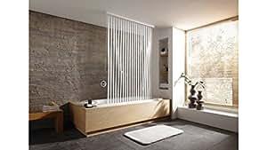 kleine wolke duschrollo transparent wei. Black Bedroom Furniture Sets. Home Design Ideas
