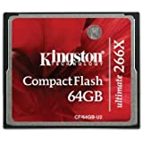 Kingston Technology CF/64GB-U2 - KTC 64GB Ultimate CompactFlash