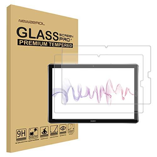[2 Stück] NEWZEROL Ersatz für Huawei MediaPad M5 pro Panzerglas Schutzfolie,High Definition Anti-Kratzer Displayschutz - [Lebenslange Ersatzgarantie]