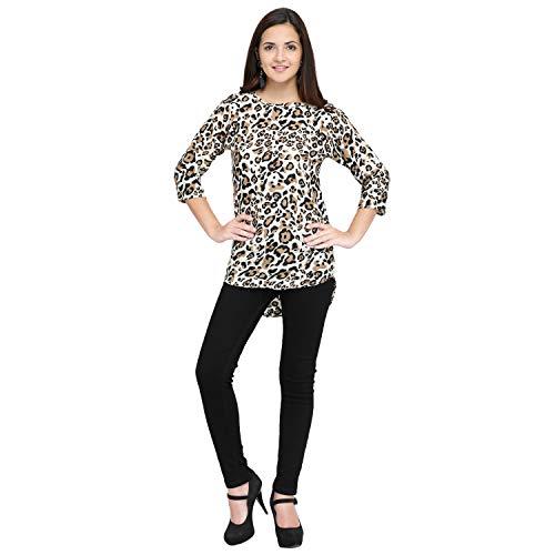 1c6c8b3d56cf56 Sale. J B Fashion Women Tunic Short Top For Jeans Plain Diamond Creap Top  For Daily wear Stylish